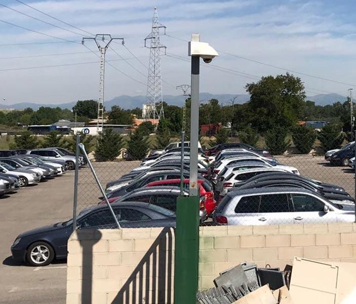 Vehículos en parking